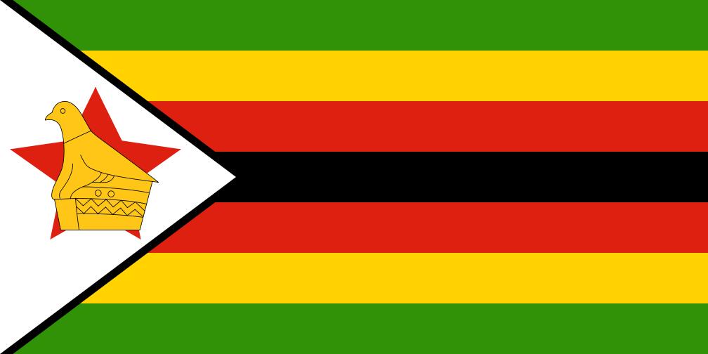 Kuvahaun tulos haulle zimbabwen lippu