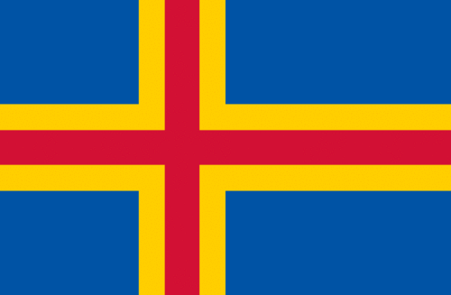 Flag of Åland Islands (Finland)