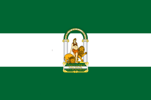 Flag of Andalucia (Spain)