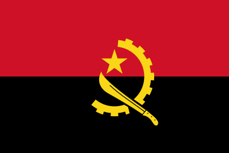 Angolan lippu - Flag of Angola