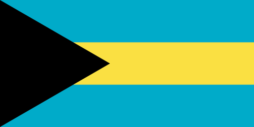 Bahaman lippu - Flag of The Bahamas