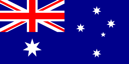 Australien flagga – Flag of Australia