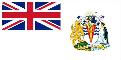 Flag of British Antarctic Territory