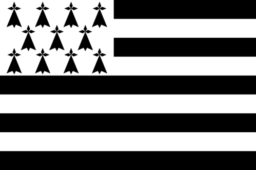Flag of Brittany (France)