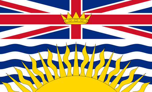 Flag of British Columbia (Canada)