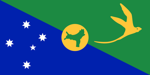Flag of Christmas Island (Australia)