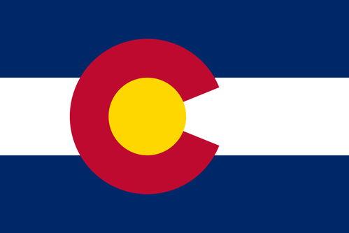 Colorado flagga (USA)