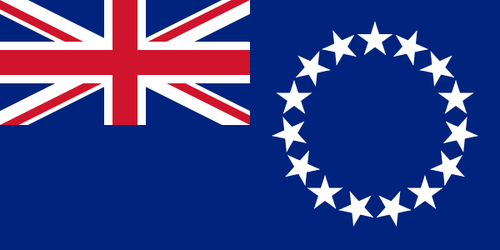 Flag of Cook Islands
