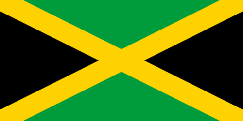 Jamaikan lippu - Flag of Jamaica