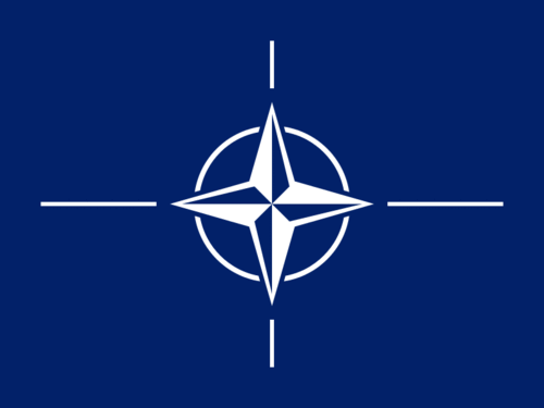 Flag of NATO - North Atlantic Treaty Organization