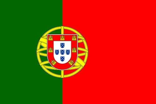 Flag of Portugal - Bandera de Portugal