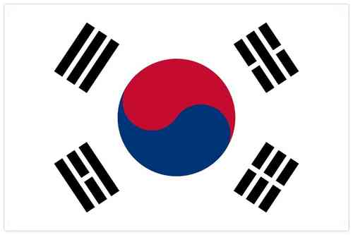 Flag of South Korea - 한국의 국기