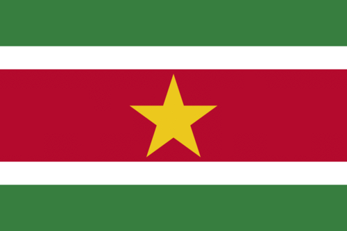 Surinam flagga