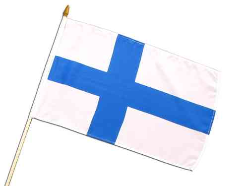 Hand Flag - Finland