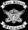 Free Bikers Finland -flag