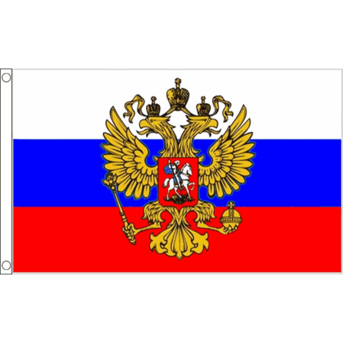 Flag of Russia (Eagle) - Русский орел флаг