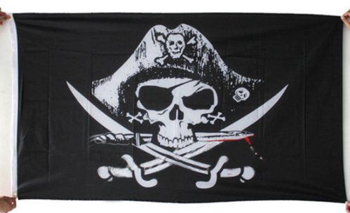 Flag of Pirates - Skull and Crossbones 90*150cm