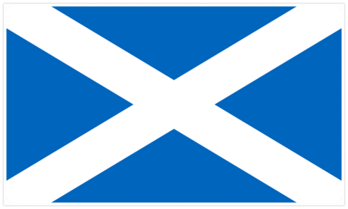 Skotlannin lippu - Flag of Scotland