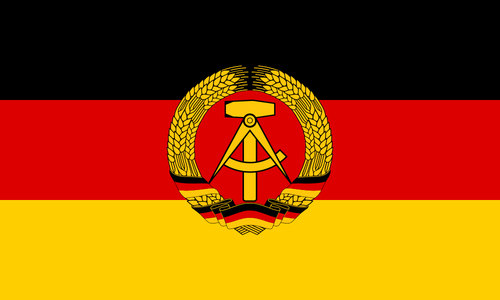 Itä-Saksan lippu - Flag of East Germany