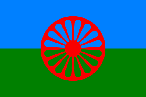Flag of Romani (Gypsy)